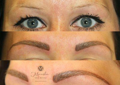 Hairstroke Mariska van Rooij permanente make-up