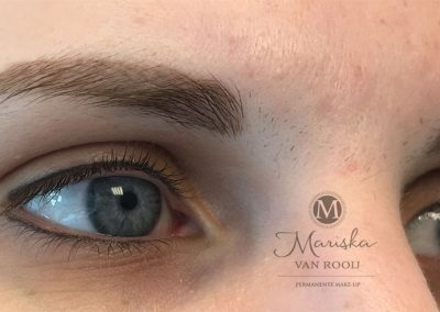 Hairstroke en eyeliner genezen Mariska van Rooij permanente make-up